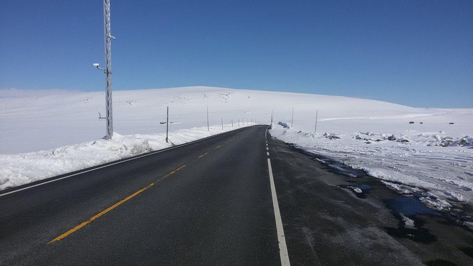 клімат і сніг в норвегії