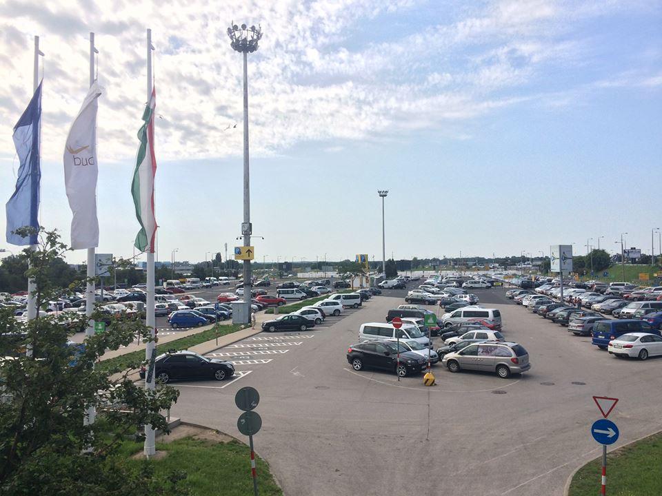 Парковка аеропорт Будапешт