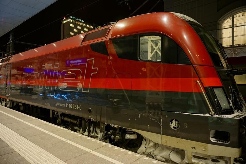 розклад руху поїзда будапешт-відень