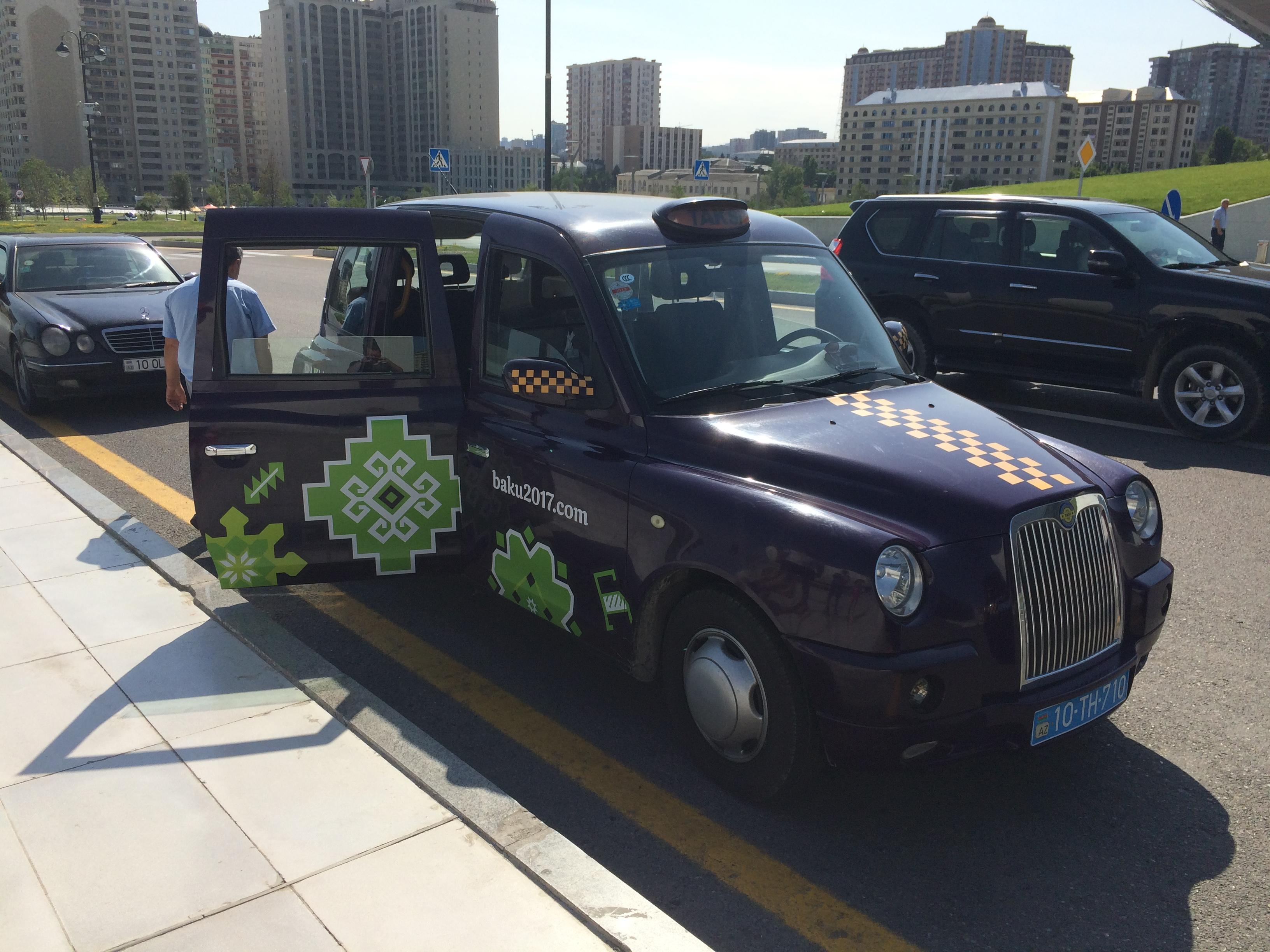 Баклажанові таксі Баку