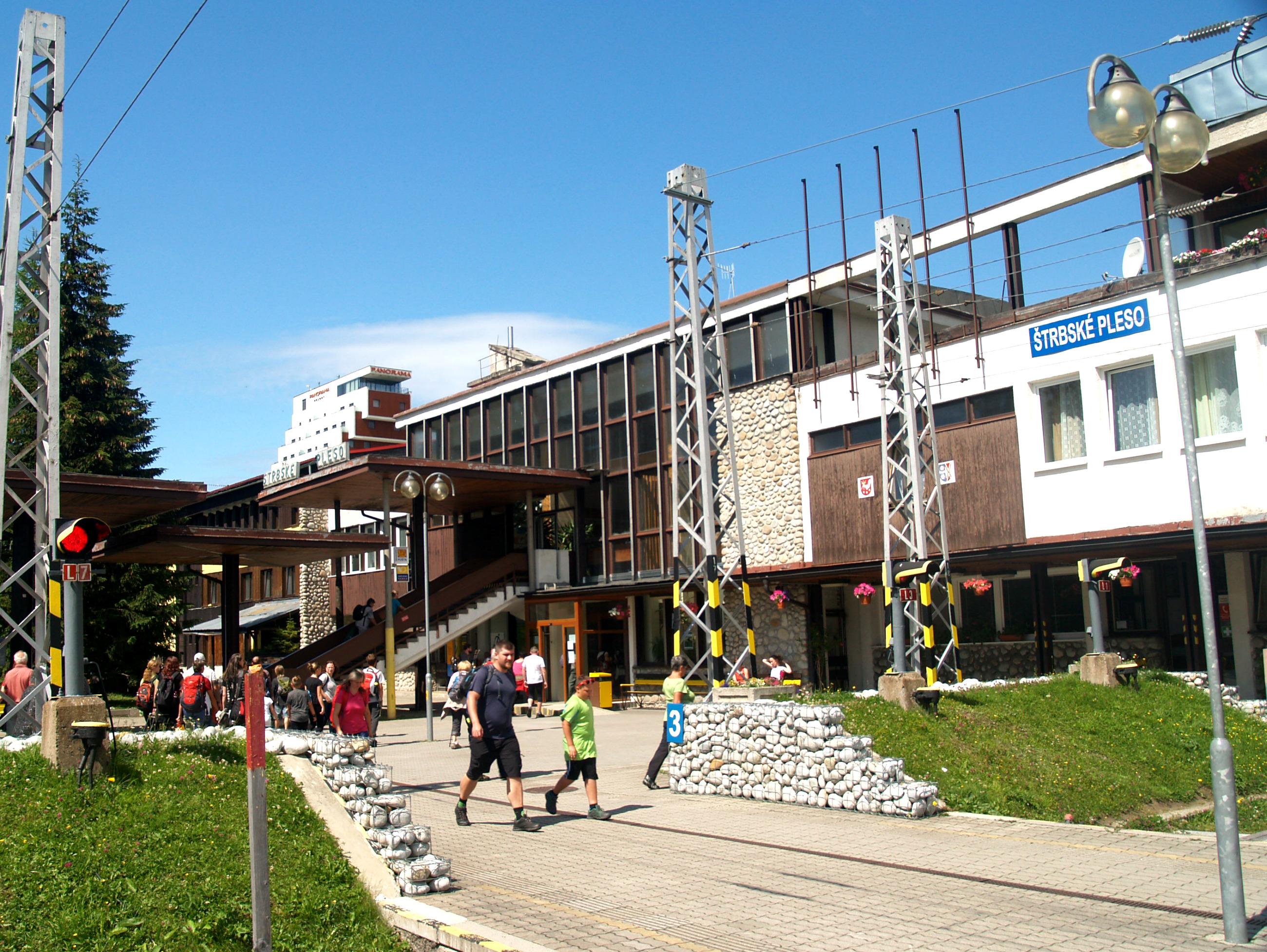 Залізнична станція Штрбске плесо