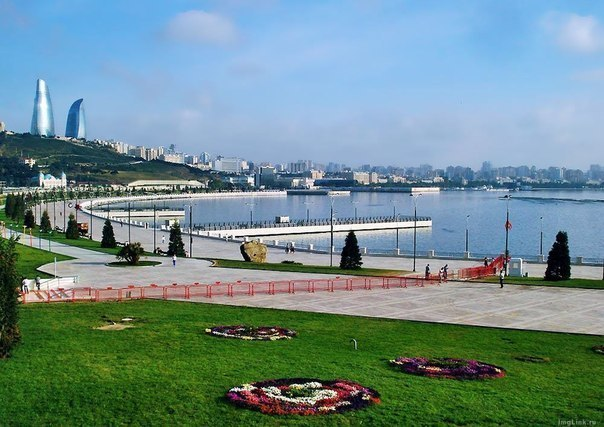 Набережна Баку