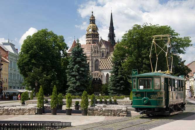 Громадський транспорт Кошице