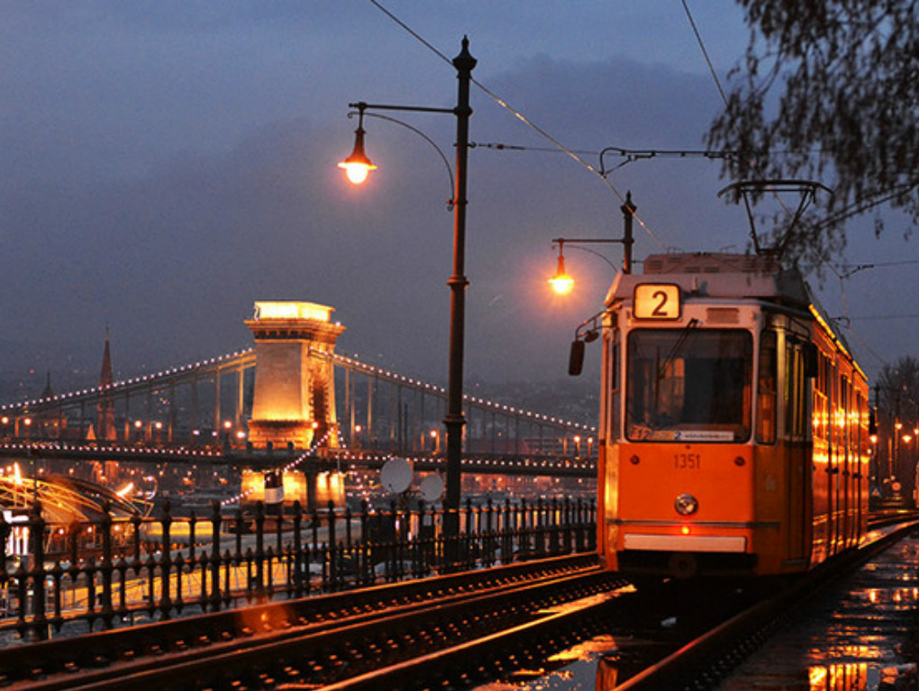 Будапешт трамвай 2