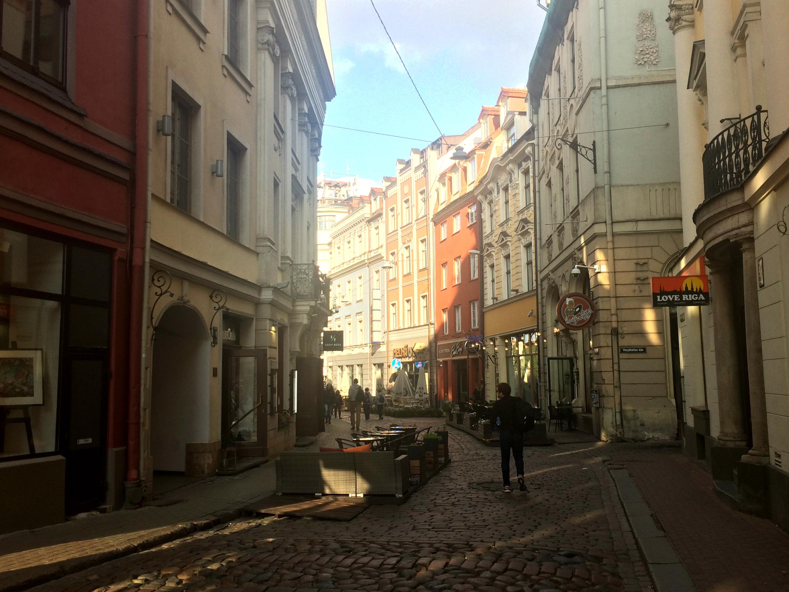 рига старе місто