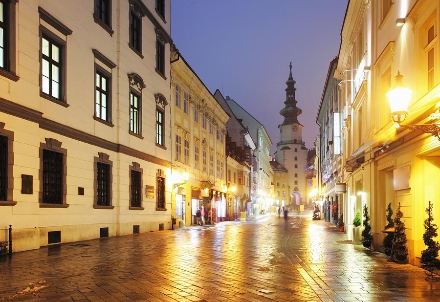 столиця словакії