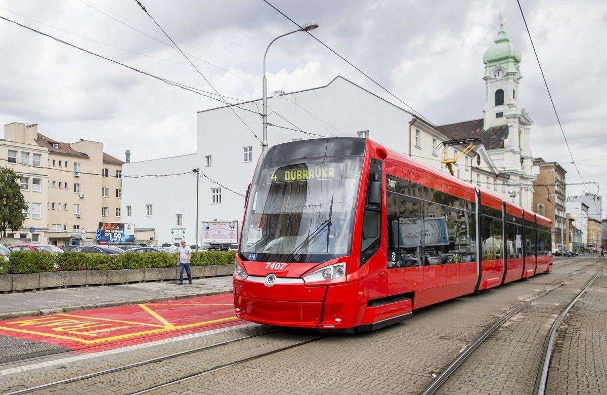 громадський транспорт братислава