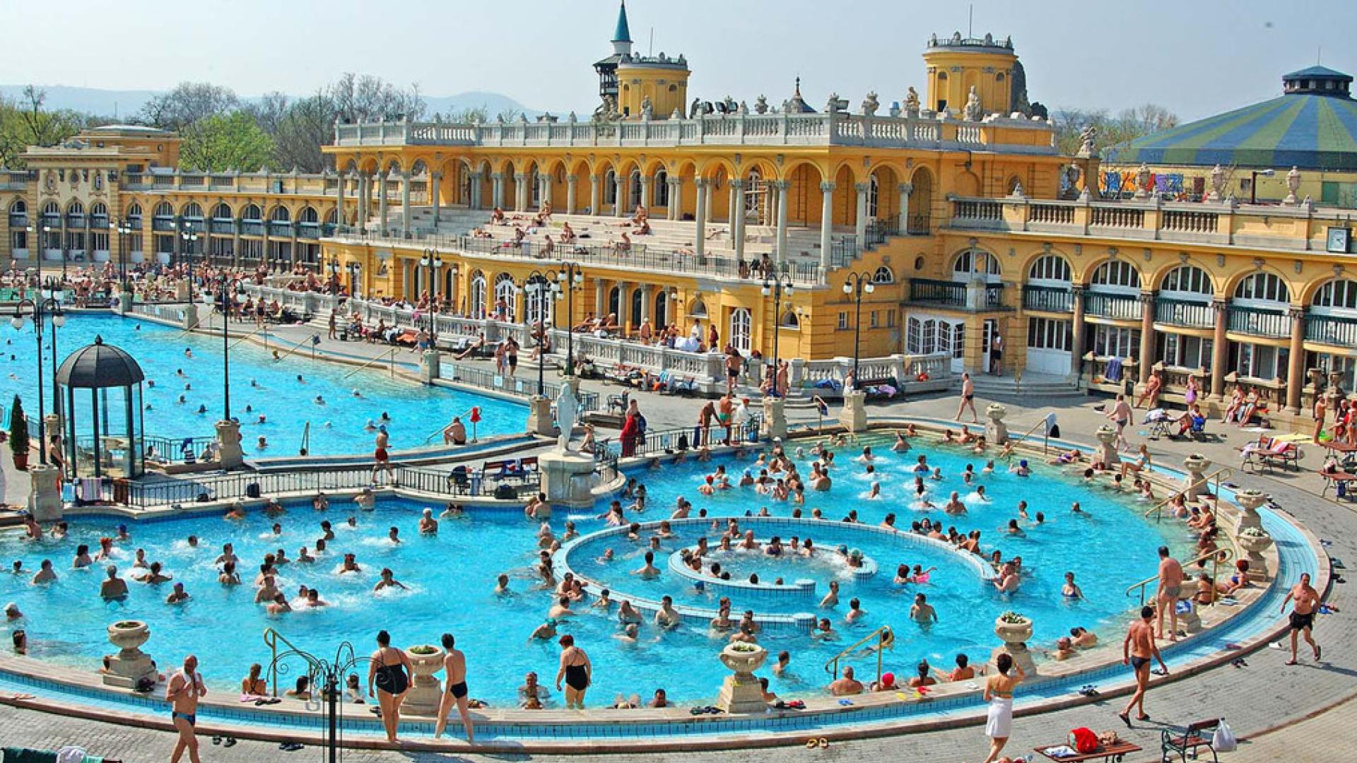 термальні купальні сечені