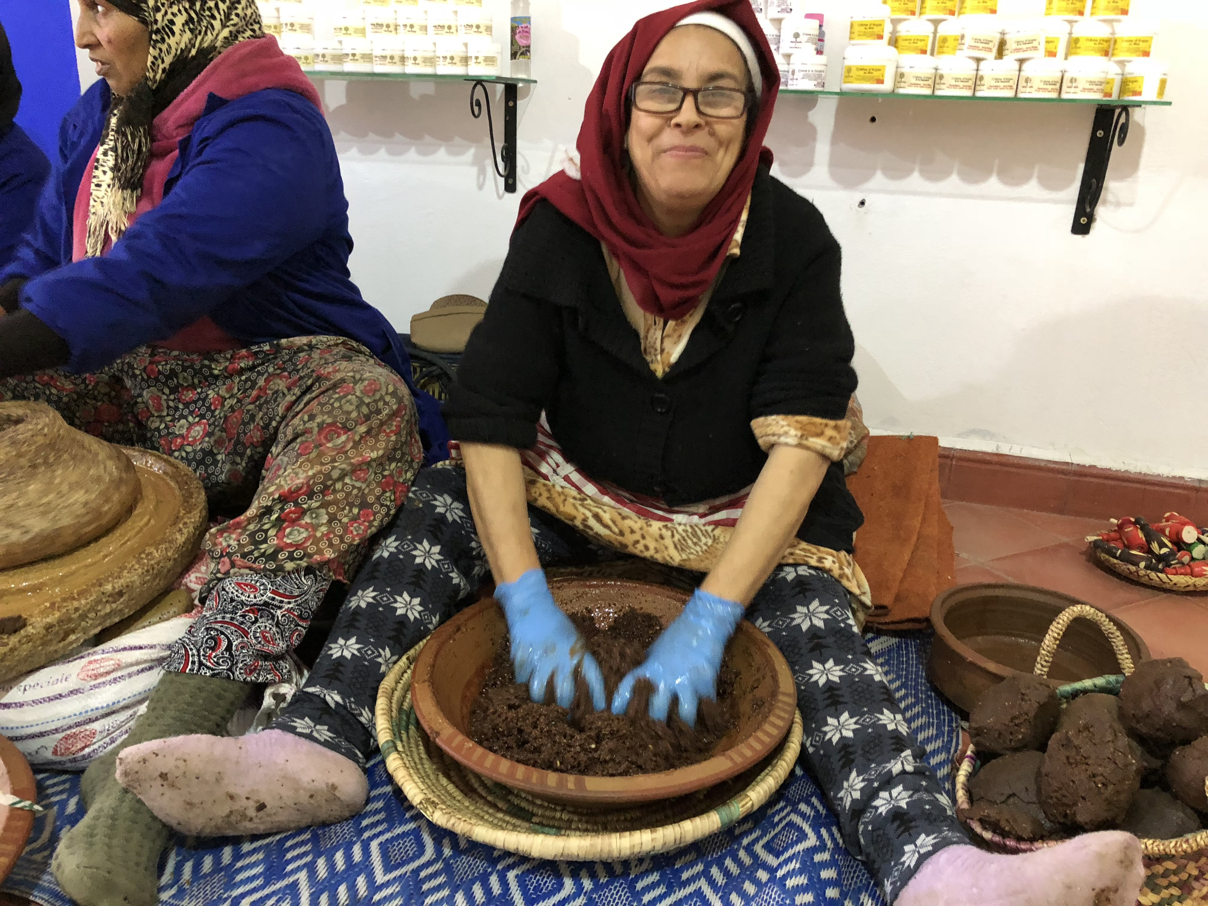 приготування арганової олії