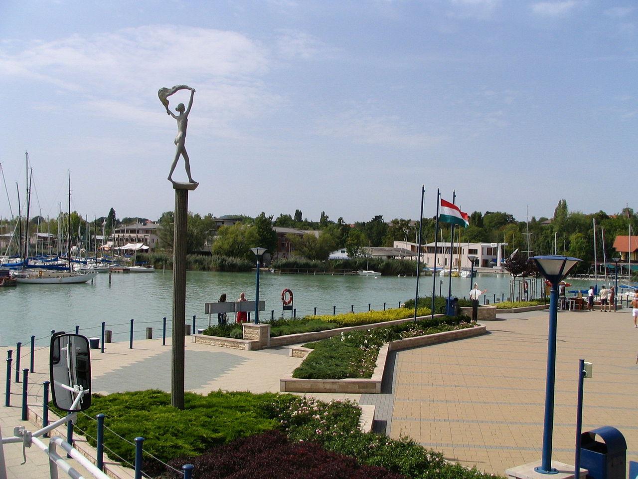 гавань Балатонфюред