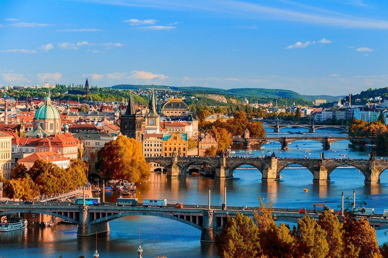 Європа Прага