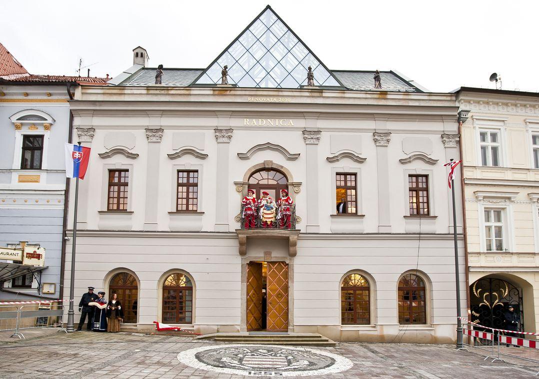 банська бистриця у словаччині