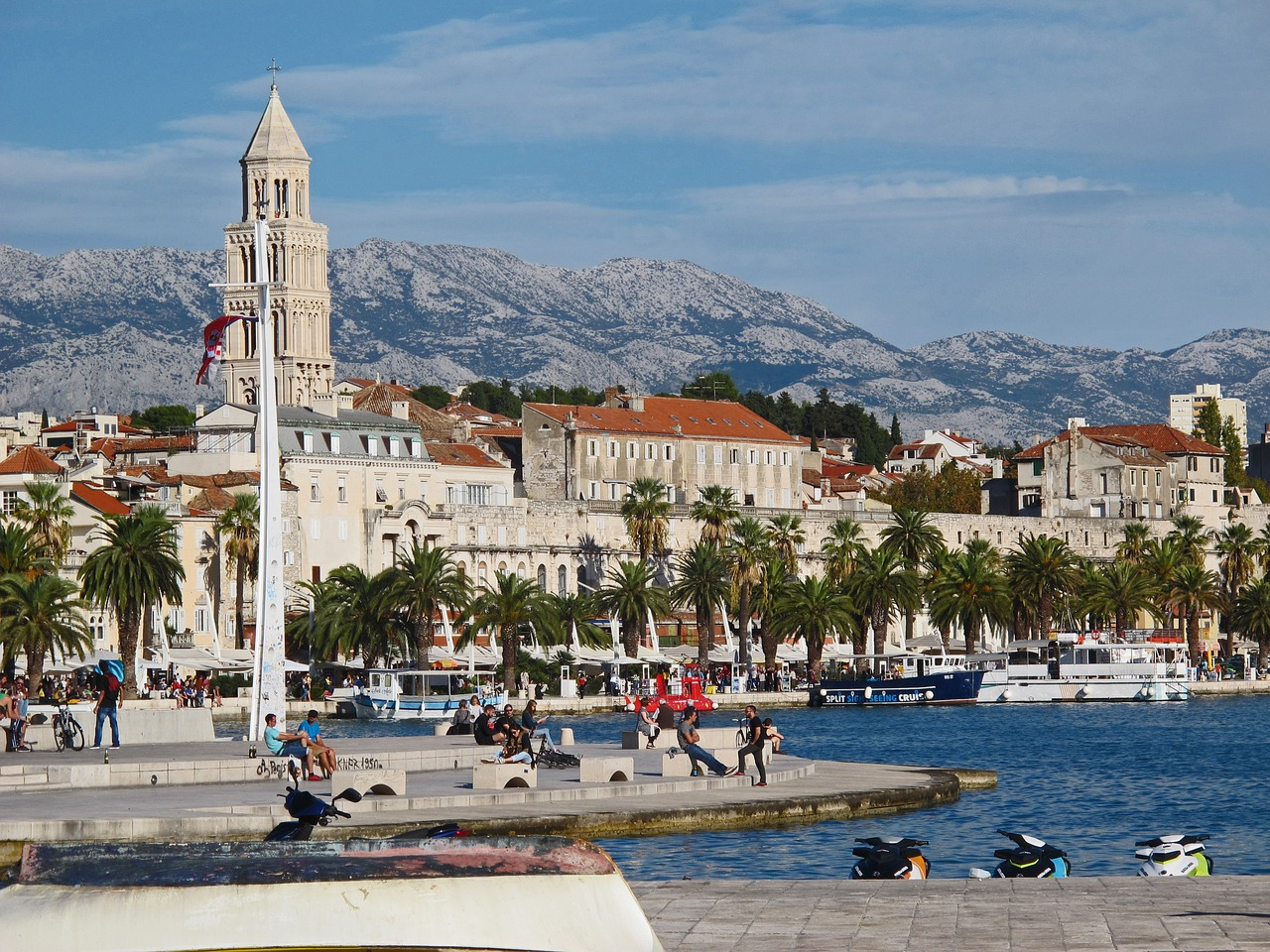 спліт хорватія море