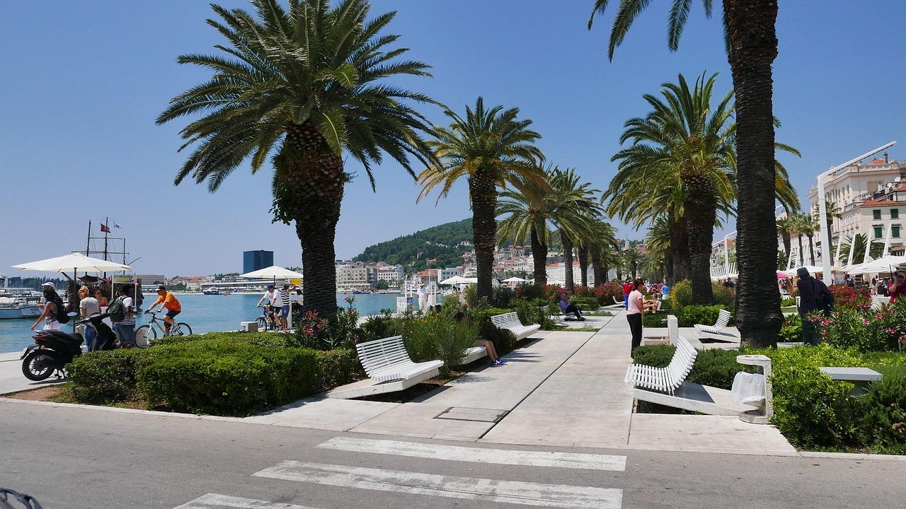 спліт пляж хорватія