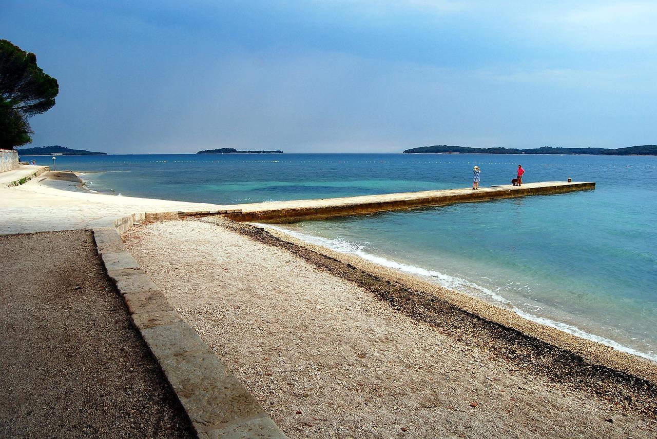 пула хорватія пляж