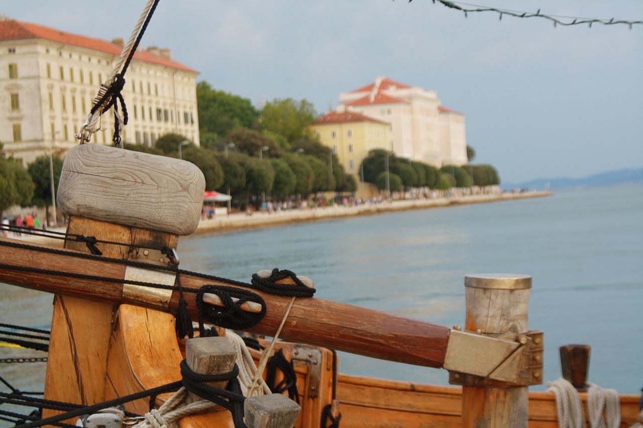 задар хорватія пляж