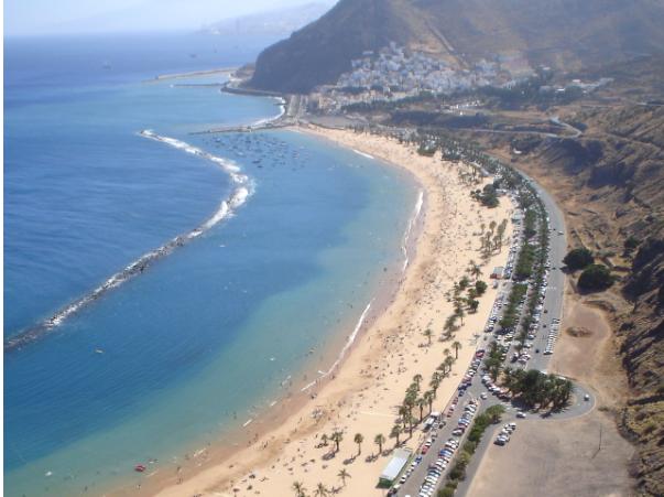 пляжі тенерифе