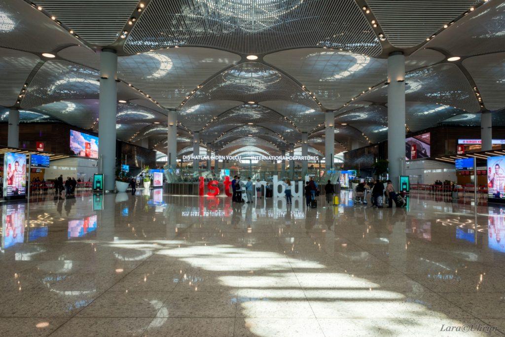 аеропорт стамбул