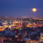 стамбул нічна панорама