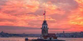 Стамбул дівоча вежа