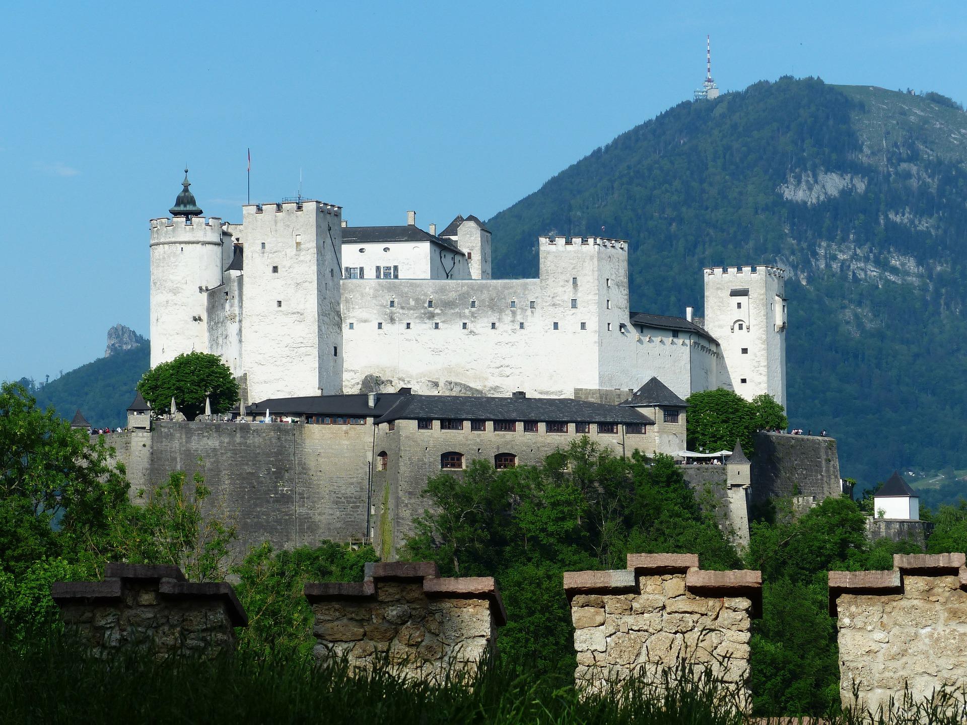 Зальцбург фортеця Хоензальцбург