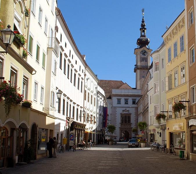 лінц старе місто