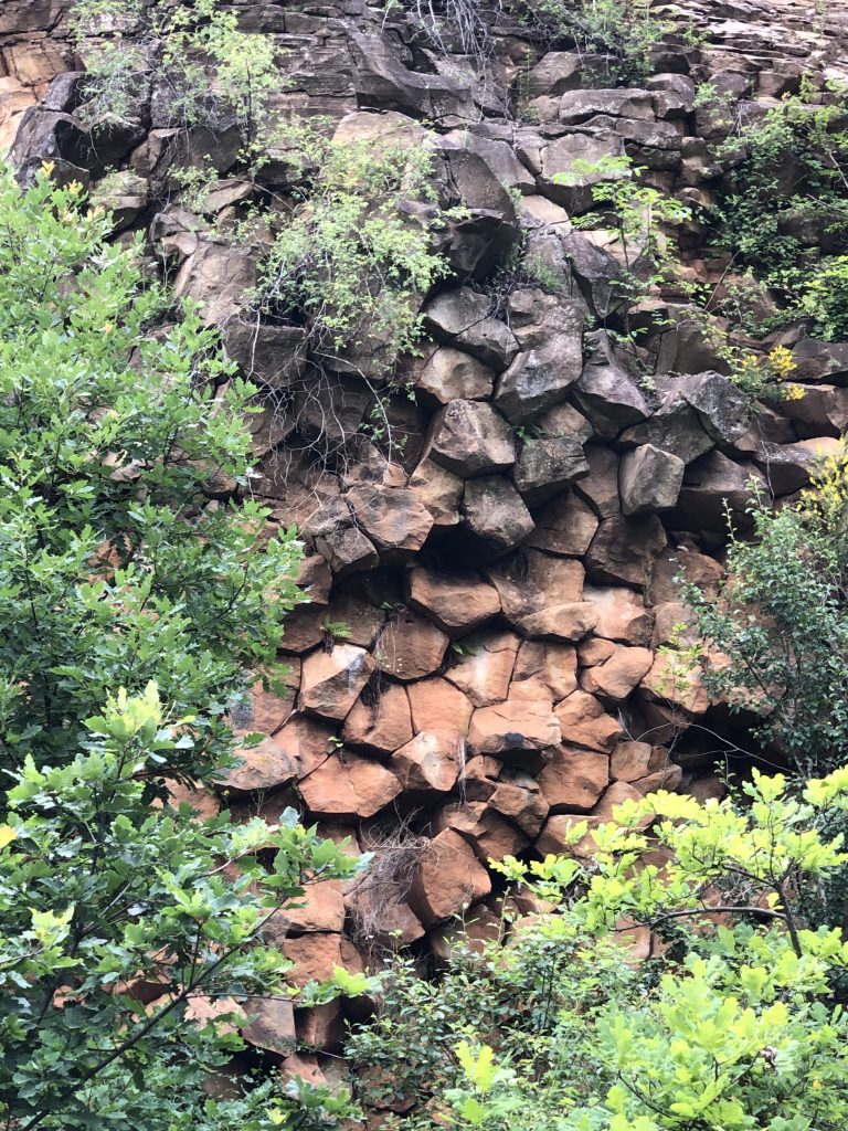 базальтові колони кольчино