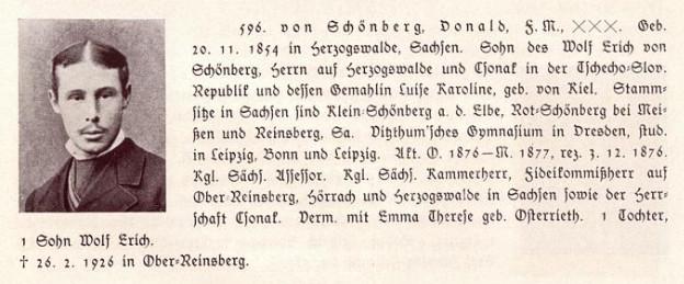 дональд фон шенберг
