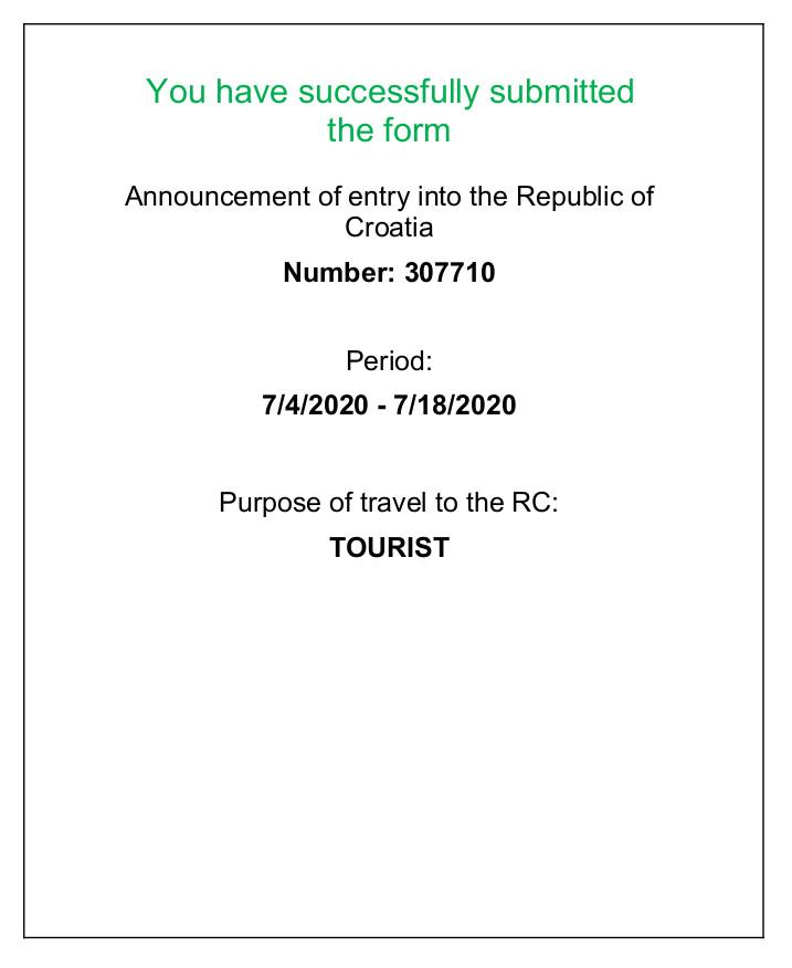 як поїхати в хорватію влітку 2020