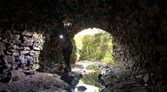 тунель в кольчині