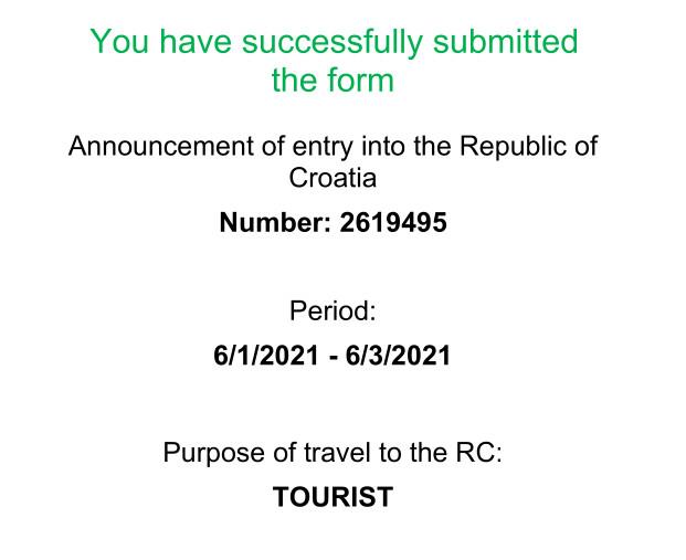 Як поїхати у Хорватію в 2021